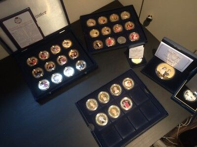 Collection of Royal Family Commemorative Coins