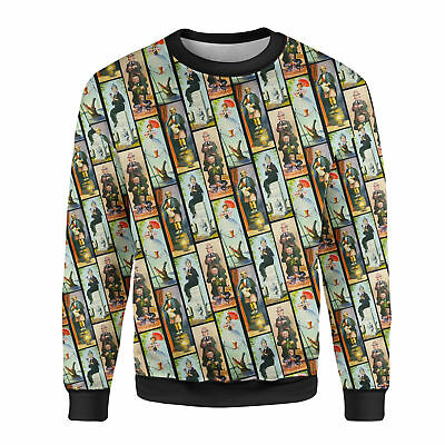 Haunted Mansion Stretch Paintings Mens Sweatshirt