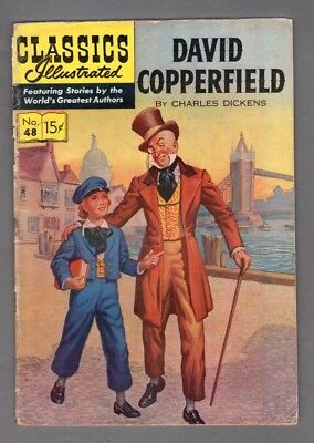 Classics Illustrated Comic book 1948 David Copperfield by Charles Dickens  #337