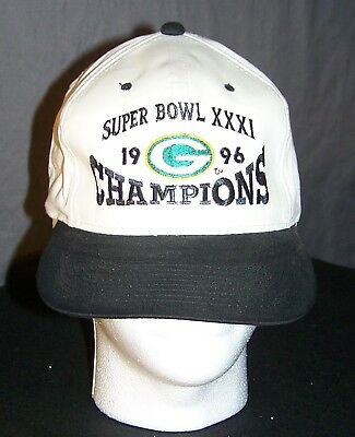 GREEN BAY PACKERS Super Bowl XXXI Champions 1997 Vintage Snap Back ... 956615f74