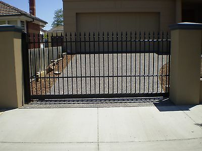 Sliding Gate Steel Burnley Design