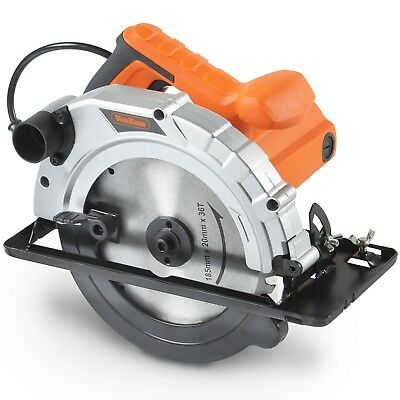 "VonHaus 10 Amp Corded Electric 7-1/4"" Circular Saw with 24"" inch TCT Blade"