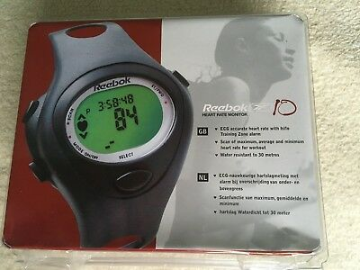 Reebok Watch & Heart Rate Monitor 10 CE0434 - Not Working: New Battery Needed?