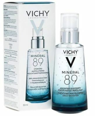 Vichy Mineral 89 Fortifying & Plumping Daily Booster with Hyaluronic Acid 50ml