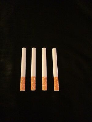 """USA Seller (4) 3"""" Cigarette Pipes One Hitter Tobacco Smoking Dugout Metal Bats"""