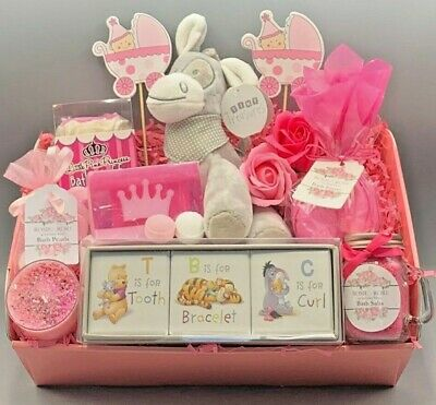 New Mummy Pamper Hamper / New Baby Girl Gift Box / Baby Shower Gift / Mum-to-Be