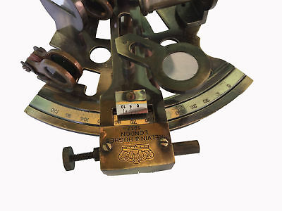 Nautical Collectibles Solid Brass Marine Sextant Antique Maritime Replica Gift