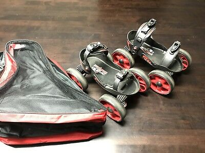 Scorpion Multi Terrain Off Road Roller Skates With Skate Bag