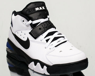 14d0817f4e83f0 Nike Air Force Max men lifestyle sneakers NEW white black cobalt AH5534-100