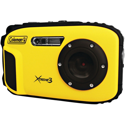 Coleman C9WP-Y Xtreme3 20 MP Waterproof Digital Camera with Full 1080p HD Video