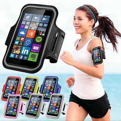SPORTS RUNNING GYM ARMBAND STRAP CASE COVER FOR For APPLE IPHONE 5 6 7 8 X Plus