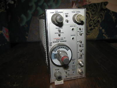 Tektronix 7T11 Sampling Sweep Unit Plug In - UNTESTED - AS IS FOR PARTS