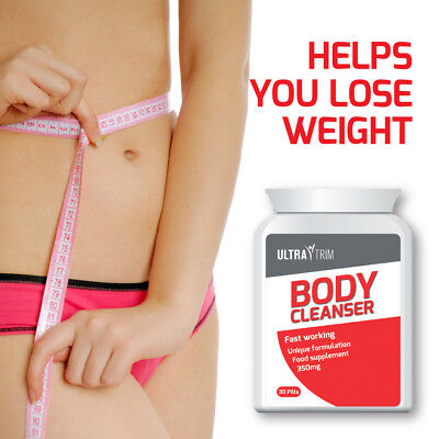 Ultra Trim Body Cleanser Pills – Helps You To  Lose Weight Get A Flat Stomach