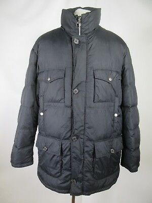 B5236 VTG Men's BARBOUR Natural Down Insulated Snap-Zip Puffer Jacket Size XL