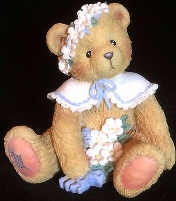 Cherished Teddies Birthday Bear May #914797 - May - Friendship Is In Bloom