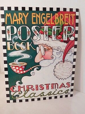 Mary Engelbreit Christmas Poster Book Complete 14 X 11