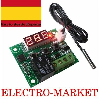 Termostato digital 12 V DC W1209 regulador de temperatura
