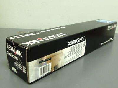 New Genuine LEXMARK X950X2KG Extra High Yield Toner Cartridge Black