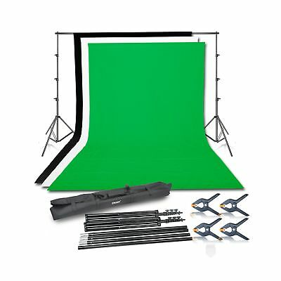 Emart Photo Video Studio Background Backdrop Stand Kit, 8.5x10ft Photography ...