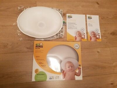 S-SIZE Mimos Baby Pillow For Flat Head (Plagiocephaly) - Air Flow Safety Medical