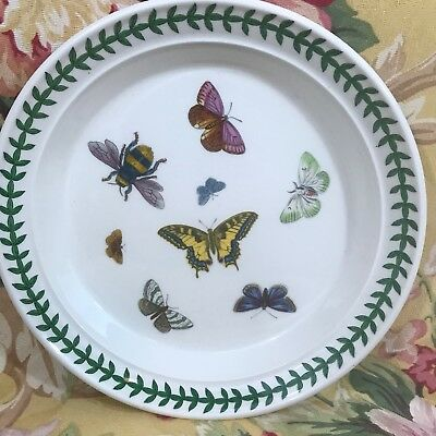 PORTMEIRION The Botanic Garden 8.5 INCH BUTTERFLY BEE salad plate