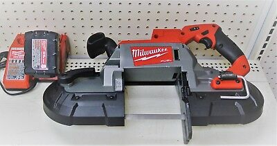 Milwaukee 2729-20 18V cordless 18V Bandsaw with charger & battery GREAT TOOL