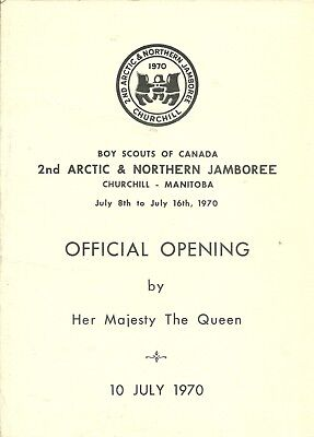 Official Opening Program for 2nd Arctic & Northern Jamboree