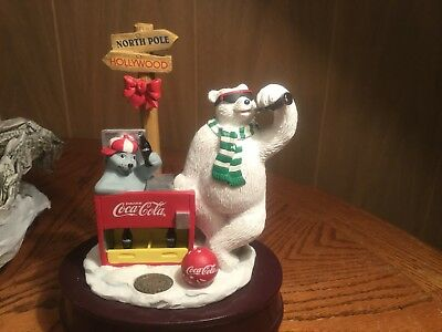 1998 COOL TREATS  Coca-Cola POLAR BEAR  Musical~House of Lloyd (S3)