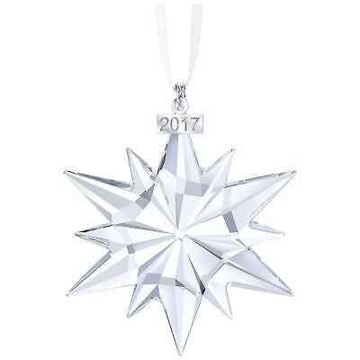Swarovski 2017 Annual Large Crystal Star Christmas Tree Ornament