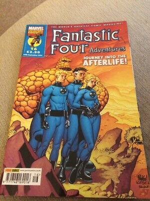 FANTASTIC FOUR ADVENTURES Marvel Comic #16  Sept 2006 Journey Into The Afterlife