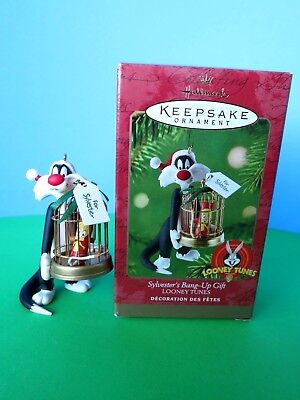"2000 Hallmark Keepsake Looney Tunes  ""Sylvester's Bang-Up Gift""  Used Ex. Cond.!"