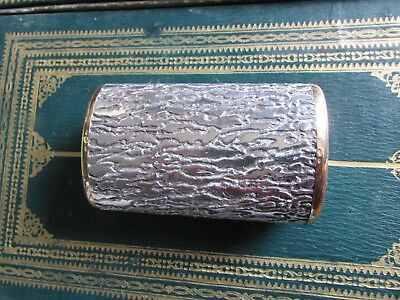 Boucheron Paris Vintage Briquet De Table Or 18 K Et Argent Poincons  Annee 60