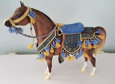 Breyer Proud Arabian Stallion with Native Costume 1399