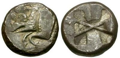 Ancient Lycia dynastic period, silver stater, 520-480 BC