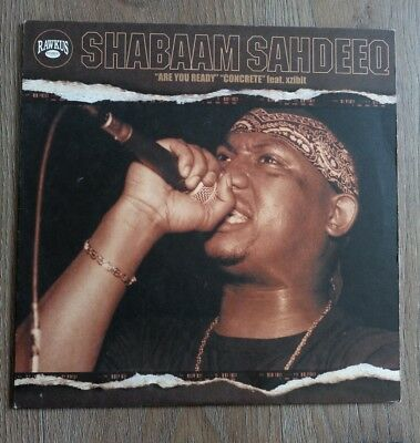 "Shabaam Shadeeq - Are you ready/Concrete 12"" Vinyl"