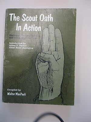 Boy Scouts 1967 The Scout Law in Action Book by Walter MacPeek, comiler