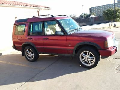 2003 Land Rover Discovery S.E. Excellent 2003 Land Rover Discovery