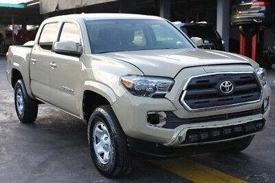 2016 Toyota Tacoma DOUBLE CAB 2016 Toyota Tacoma DOUBLE CAB REBUILDER REPAIRABLE FIXER DAMAGED WRECKED