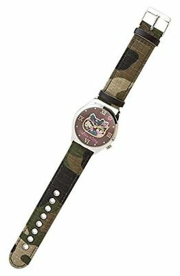 Sanrio Hello Kitty Double Dial Watch Casual Military Cute Kawaii New from Japan