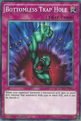 Yugioh Bottomless Trap Hole 1st Edition Common WIRA-EN056 M/NM