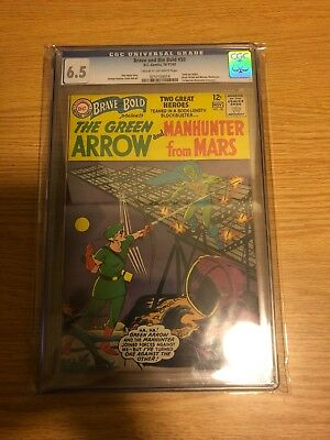 Brave and the Bold #50 CGC 6.5