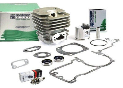 Meteor cylinder piston kit for Husqvarna 61 kit 48mm with gaskets & oil seals