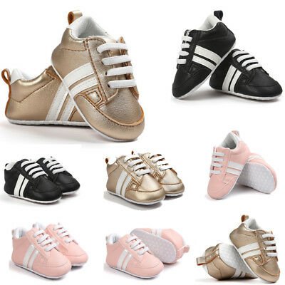 a149e748f Baby Boots Soft Bottom Anti-skid Leather Sports Crib Shoes For Infant Girls  Boys