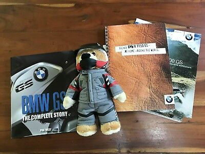 BMW GS Brochures, Book And Teddy