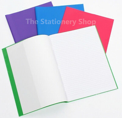 Cumberland Exercise Book Covers A4 Funky Colours-Pack of 10-Slightly Imperfect