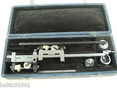 Old Planimeter Engineering Tool Russian Soviet Geoinstrument with Case *845
