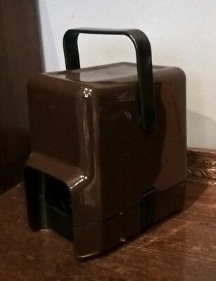 DECOR Wine Cask Wine Cooler Retro 80's Brown 4 Litre - Collectible Bar Vintage