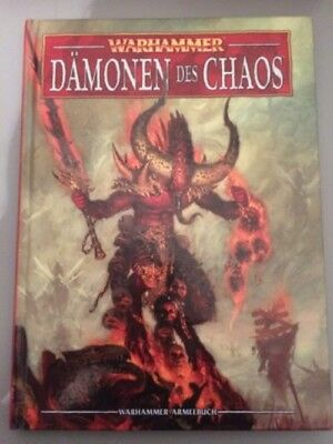 Armeebuch Dämonen des Chaos 8. Edition Warhammer Fantasy Games Workshop deutsch