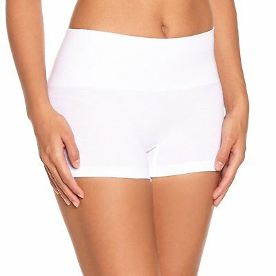 Scala Women'S Plain Or Unicolorcontrol Knickers - White - Blanc White - 20 Brand