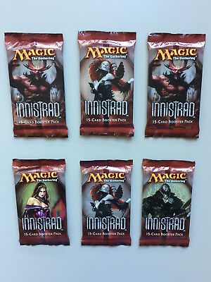 MTG 6 x INNSTRAD BOOSTER PACKS Factory Sealed / English Magic The Gathering